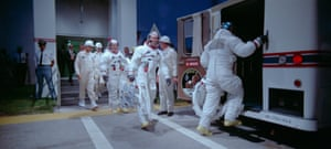 Launch day of the Apollo 11 mission was captured on 70mm film.