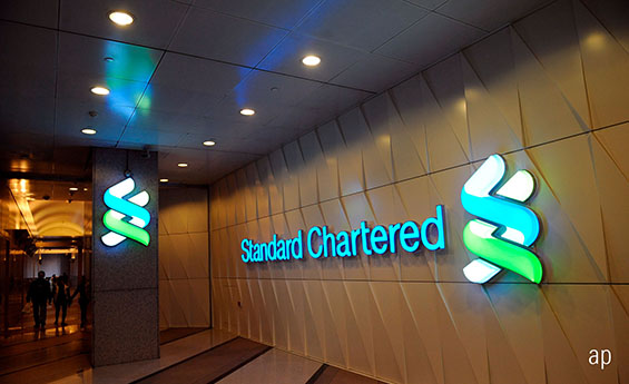 Standard Chartered banking stock financial sector equities