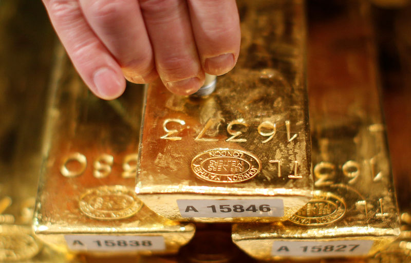 © Reuters.  Best Stock Returns in August Came From ETFs Loved by Gold Bugs