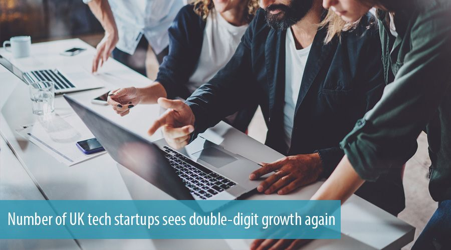 Number of UK tech startups sees double-digit growth again