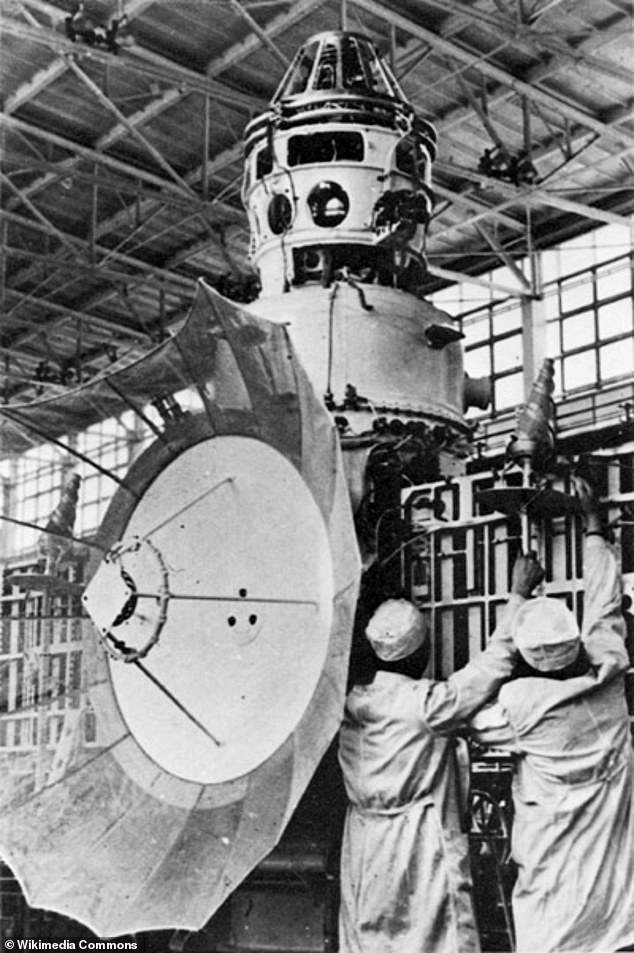 Soviet probe Kosmos 482. It launched in 1972 and was destined to land on the surface of Venus before the mission failed is expected to crash land on Earth this year