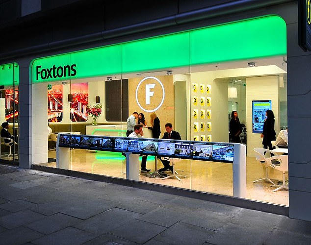 Reach:Foxtons said it was able to cover 85 per cent of London's housing market from 61 branches