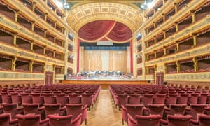 Teatro Massimo Vittorio Emanuele, Palermo, the third largest opera house in Europe