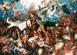 Bruegel's The Fall of the Rebel Angels, 1562.