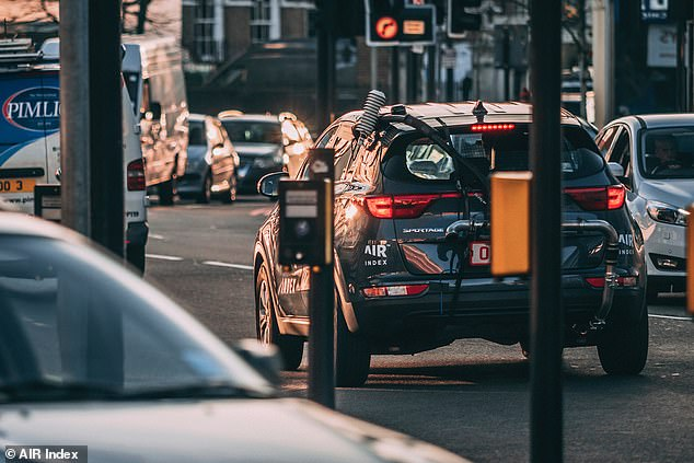 The Air Index test involves each vehicle having emissions measuring equipment attached to the exhaust pipe and cars being driven out on UK roads