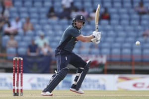 Bairstow gets off the mark.