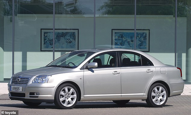This Avensis is even older than the one we featured earlier, but testament to Toyota's robust build quality it is proving to be a super-reliable motor, despite the oldest versions being well over a decade old and clocking up thousands of miles