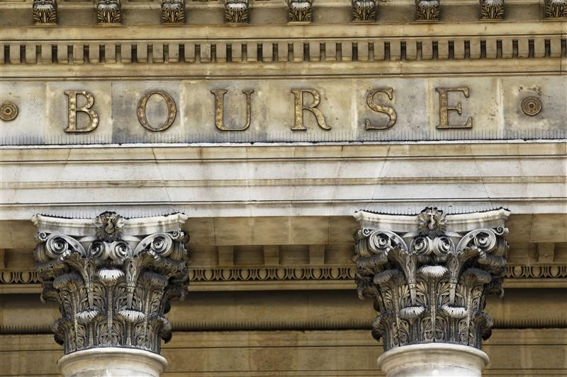 © Reuters.  France shares lower at close of trade; CAC 40 down 0.18%