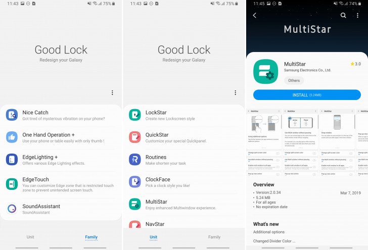 Samsung releases Good Lock 2019 with Pie support [APK Download