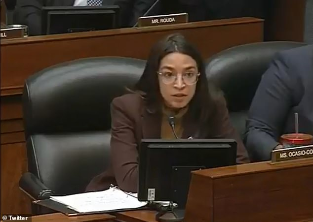 Ocasio-Cortez asked why the drug would be so expensive since it was developed by research funded by the US taxpayer