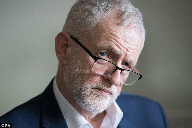 National disaster?: Labour leaderJeremy Corbyn believes renationalisation is the way forward