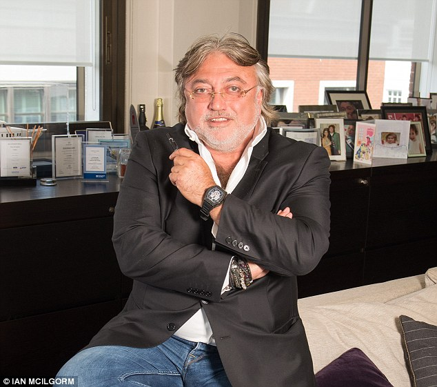 Support: Robert Tchenguizsaid he 'very recently' bought roughly 0.5 per cent of First Group's shares