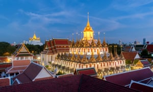HiveSters runs a tour of Bangkok Old Town, featuring the, pictured, Wat Ratchanadda temple.