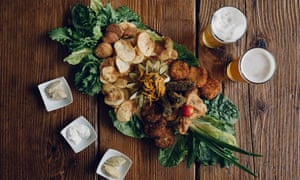 Vegetarian food and craft beer at Fior di Cucuzza