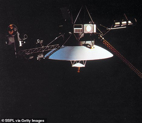 Two Voyager spacecraft were launched in 1977 to explore the planets in the outer solar system