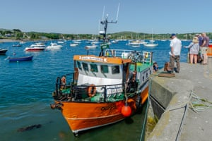 Next stop, America: boats at Schull Harbour.