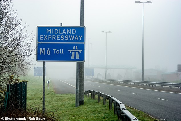 M6 toll hike: From midnight on Friday 12 July, car drivers will need to pay £6.70 to use the motorway - up 30p, which works out at an increase of 5%