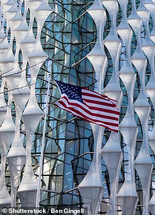 The US Embassy owes the UK the most, racking up £12.6million in motoring charges