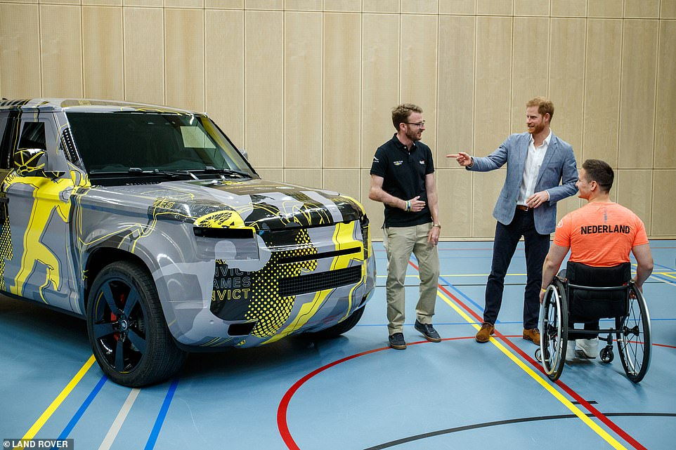 It's also understood that Bond's adversaries will use Land Rover's new Defender, which has yet to be revealed. Prince Harry had an early preview of the new 4x4 at the launch of the Hague Invictus Games earlier this year