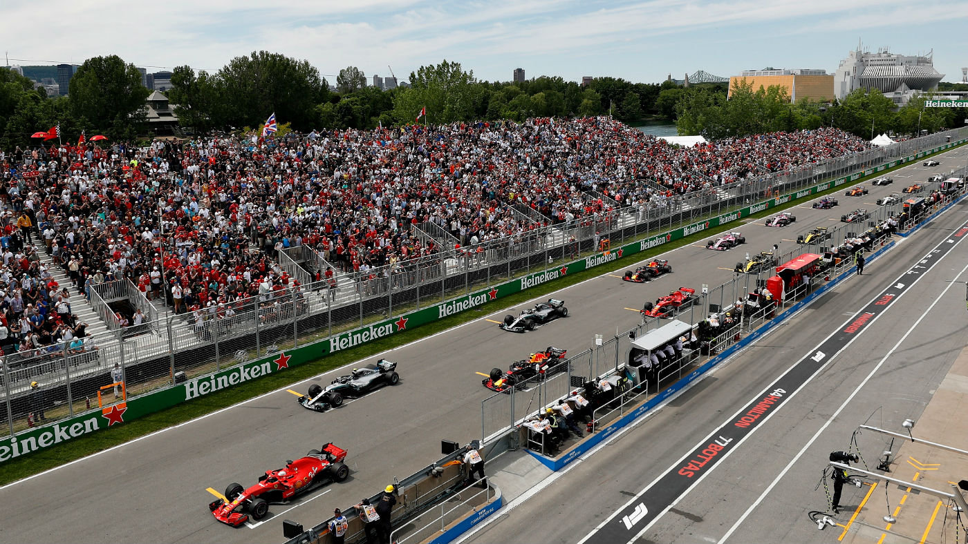 F1 Canadian GP: practice, qualifying, race start time