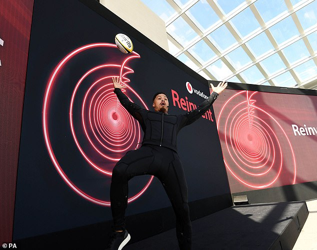 Speeding up:Vodafone and O2 have firmed up a deal to share equipment like radio antennas in a bid to speed up the roll out of 5G broadband services
