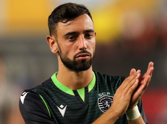 Sporting have denied that Manchester United have agreed a deal for Bruno Fernandes