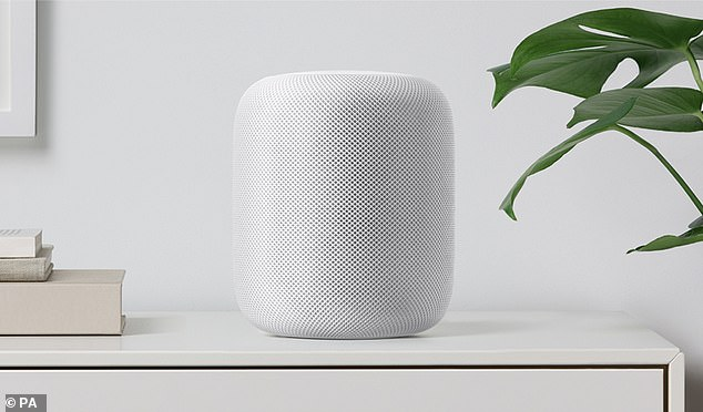 Apple has been listening on users' Siri voice commands according to a recent report by The Guardian. Apple's HomePod is pictured