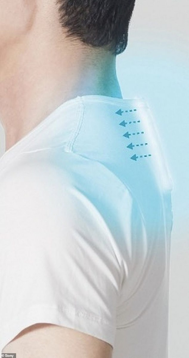This week, the UK has been experiencing its hottest temperatures on record, with parts of the south reaching a staggering 39°C. It slips into a special undershirt with a pocket at the base of the neck, and connects to an app, which you can control on your phone