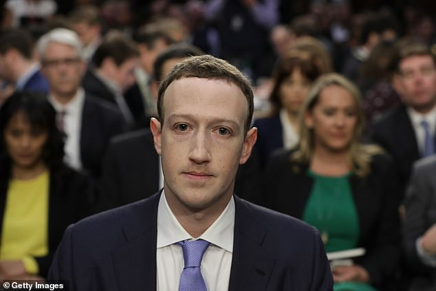The Australian Competition and Consumer Commission has expressed concerns about the American search engine and social media behemoths, following an 18-month inquiry into their market power (pictured is Facebook co-founder Mark Zuckerberg)