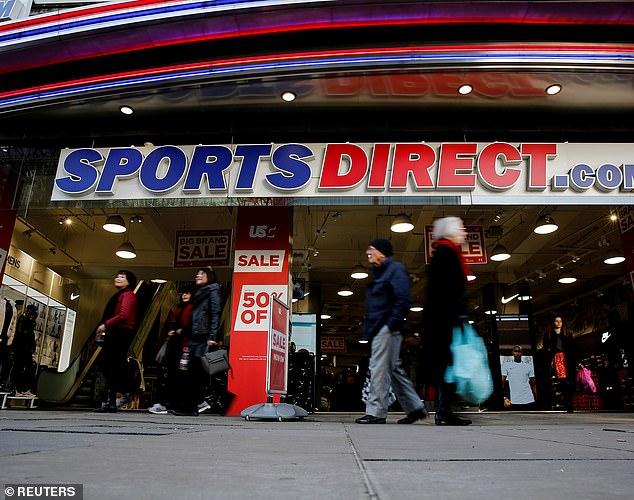 Cancelled: Sports Direct was due to give a presentation to investors and media at 9am this morning, but this was cancelled at the last minute