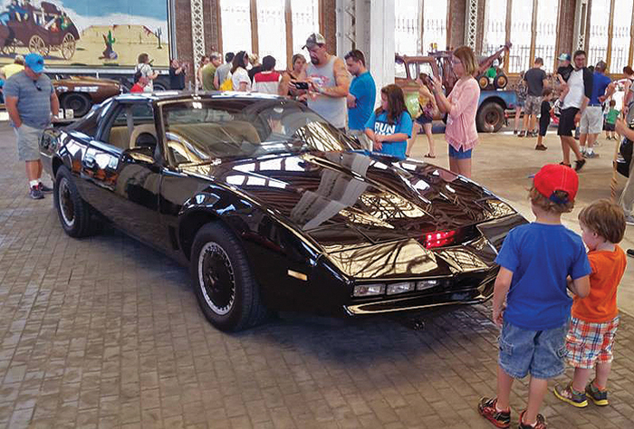 Celebrity car show at the NC Transportation Museum