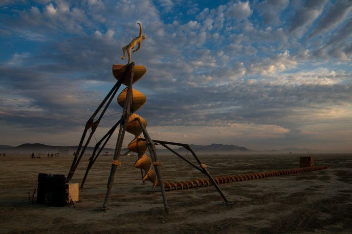 Bitcoin, Burning Man