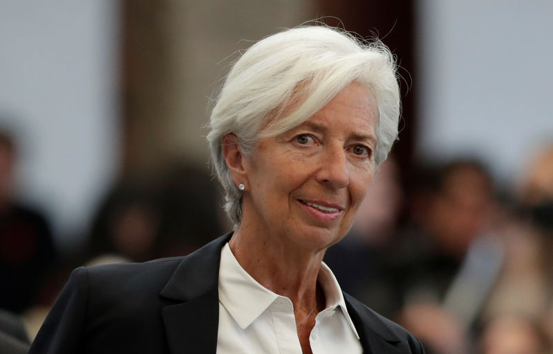 © Reuters. IMF Managing Director Lagarde attends the Women's Forum Americas in Mexico City
