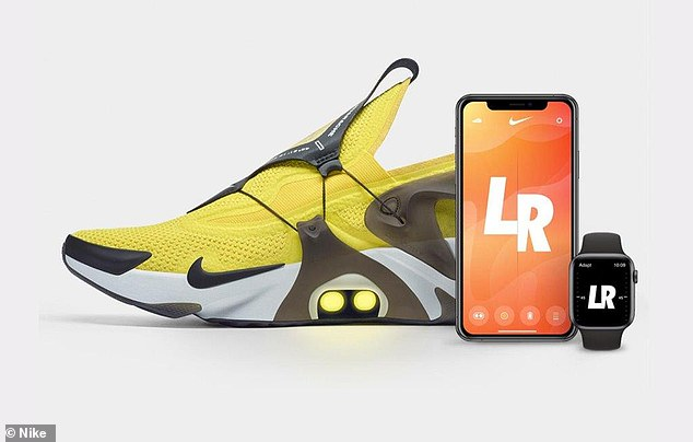 Nike is tying up with Siri to let owners of its new shoes untie their laces using just their voice. The company's latest take on futuristic wearable technology has been embedded into its revamped Huaraches trainers