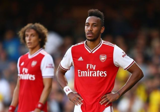 Pierre-Emerick Aubameyang slams Arsenal defending against Watford