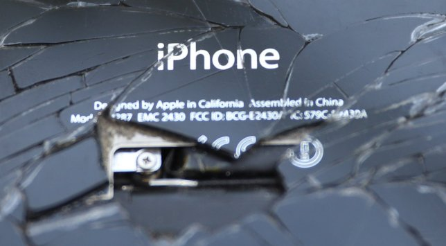 The sight of a broken iPhone should no longer be as depressing as it once was (Image: Reuters)