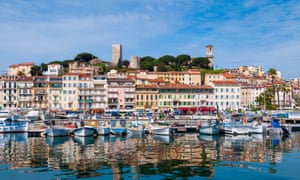Cannes Waterfront at the French Riviera by Day