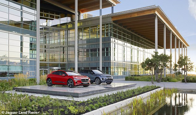 Jaguar Land Rover announced it will pause production at its British factories for a week in November as it opened its new engineering and development site in Gaydon, Warwickshire