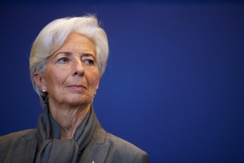 © Reuters.  Lagarde Will Probably Keep ECB Stimulus Going, Stournaras Says
