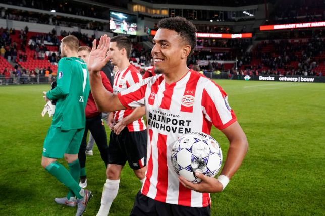 Donyell Malen has been in sensational goalscoring form for PSV since leaving Arsenal