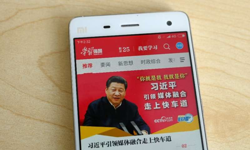 Some experts say the 'Xuexi Qiangguo' app, meaning 'Study to make China strong', could actually be monitoring users