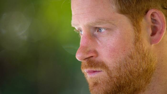 Britain's Prince Harry, Duke of Sussex, is pictured during one of his activities joining a Botswana Defence Force anti-poaching patrol on the Chobe River in Kasane, Botswana, September 26, 2019. Dominic Lipinski/Pool via REUTERS