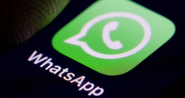BERLIN, GERMANY - DECEMBER 14: The Logo of instant messaging service WhatsApp is displayed on a smartphone on December 14, 2018 in Berlin, Germany. (Photo by Thomas Trutschel/Photothek via Getty Images)