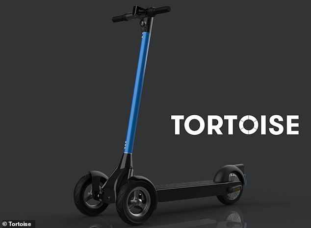 California-based startup, Tortoise, is working on the technology and said the scooters would drive themselves on uncomplicated routes where there aren't too many people