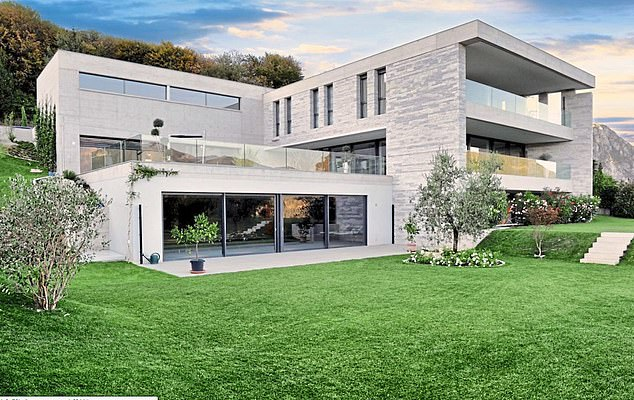 Luxury: This Swiss mansion was one of the assets of Sholpan Arip