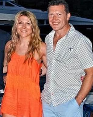 Confiscation order: Mark Starling (pictured with daughter Rosie) was jailed for five years last November
