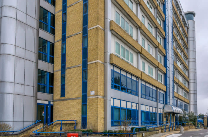 RCKY5Y Residents of Northpoint in Bromley are facing high costs for removal of unsafe cladding of the type that contributed to the Grenfell Tower fire.