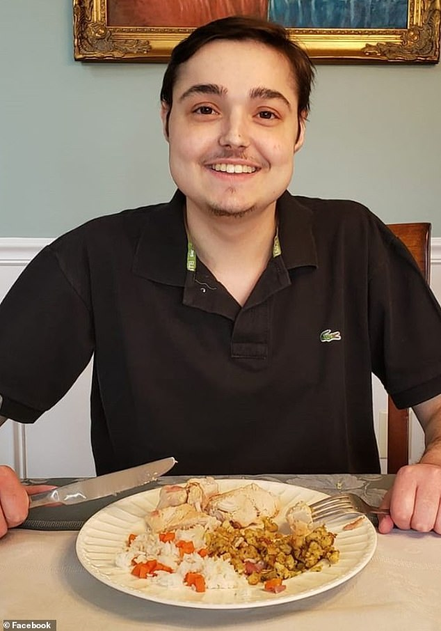 Michael Dotto, 19, of Syracuse, has been enjoying chicken and carbs since his transplant, which allowed him to eat solid food for the first time