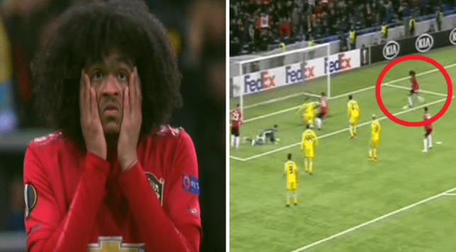 Tahith Chong missed an absolute sitter during Manchester United's Europa League clash with Astana