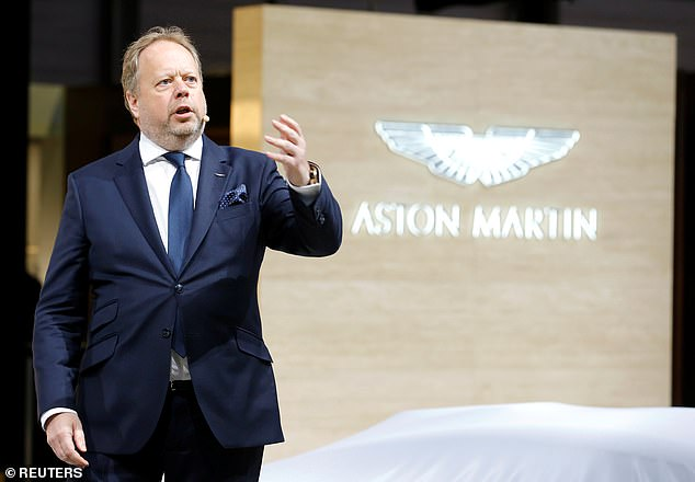 Boss Andy Palmer who has run Aston Martin since 2014, will hope the launch of the DBX on Wednesday could spark a change in fortunes